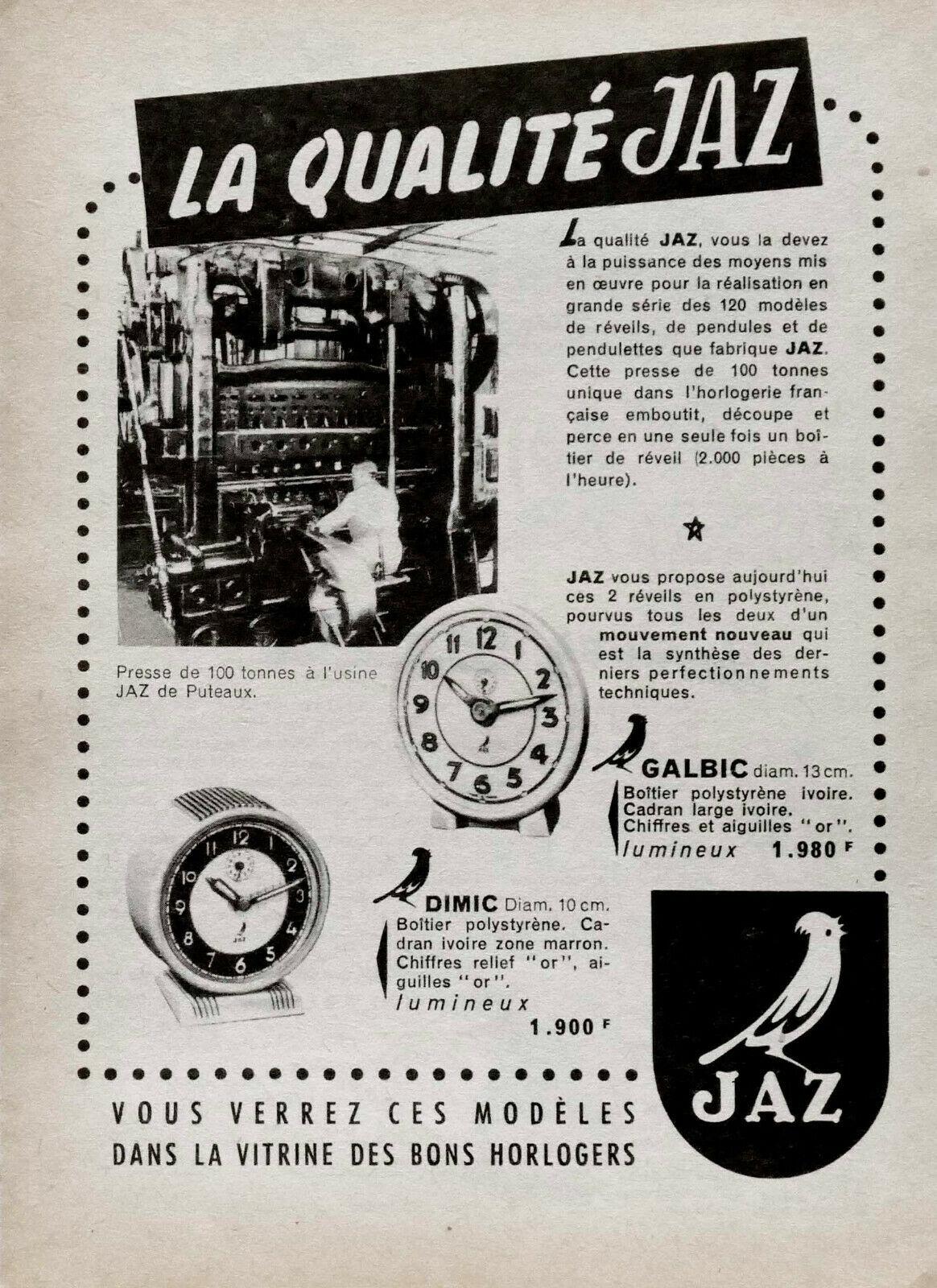 1955 pub galbic et dimic