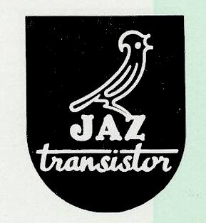logo jaz transistor 1959