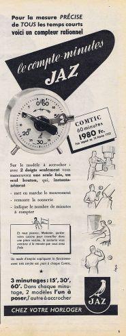comtic publicité 1952