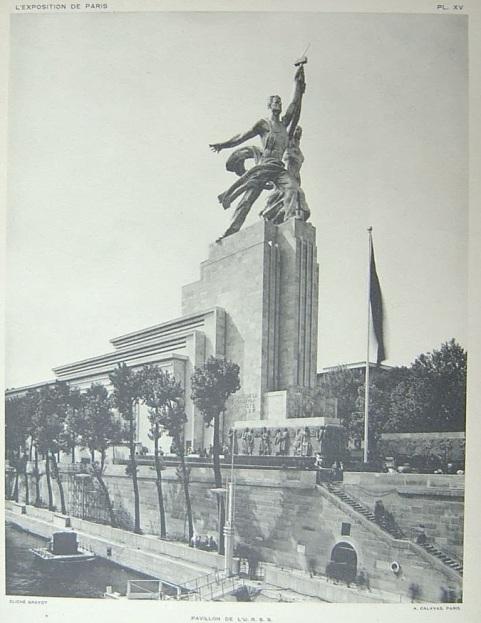 pavillon URSS 1937
