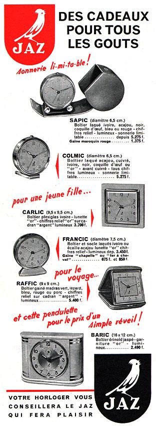 sapic colmic carlic francic raffic PM n°299 Déc 1954