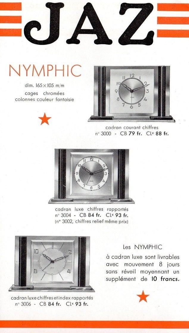 nymphic-gamme
