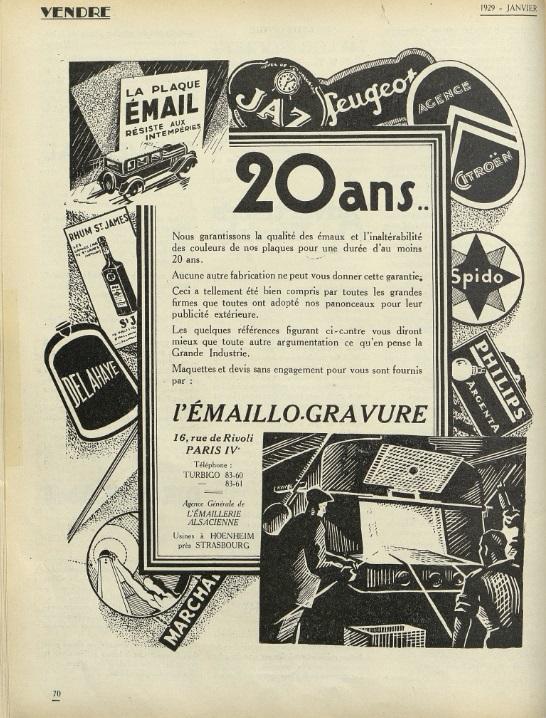 Vendre Janvier 1929 page 70
