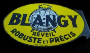 2 blangy plaque