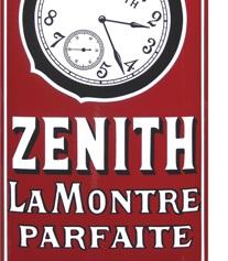 5 Zenith plaque