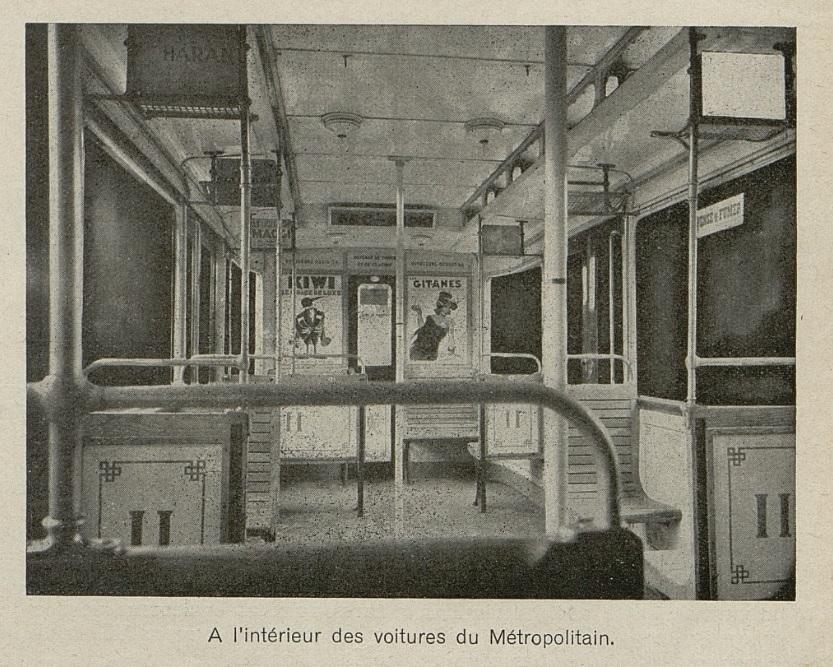 Métro Revue vendre Avril 1935 détail