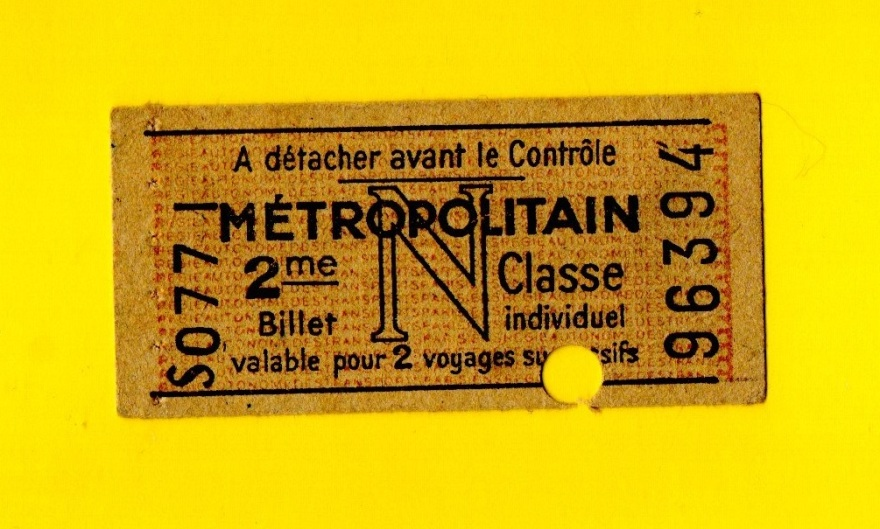 ticket 2° classe