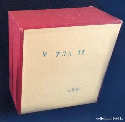 carpic boîte dos