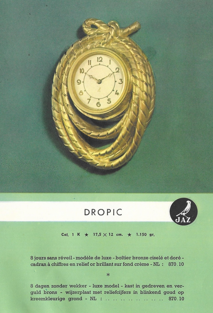 dropic fiche belge 1950