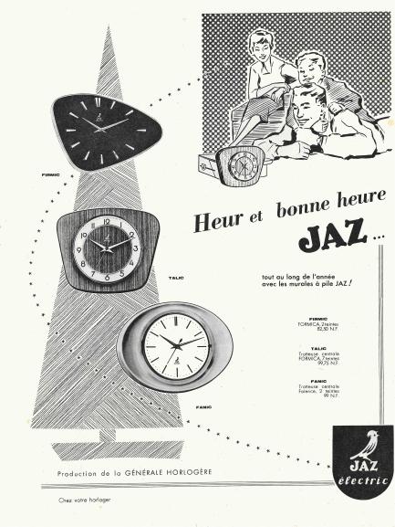 firmic talic fanic pub Paris Match n°663 Déc 1961