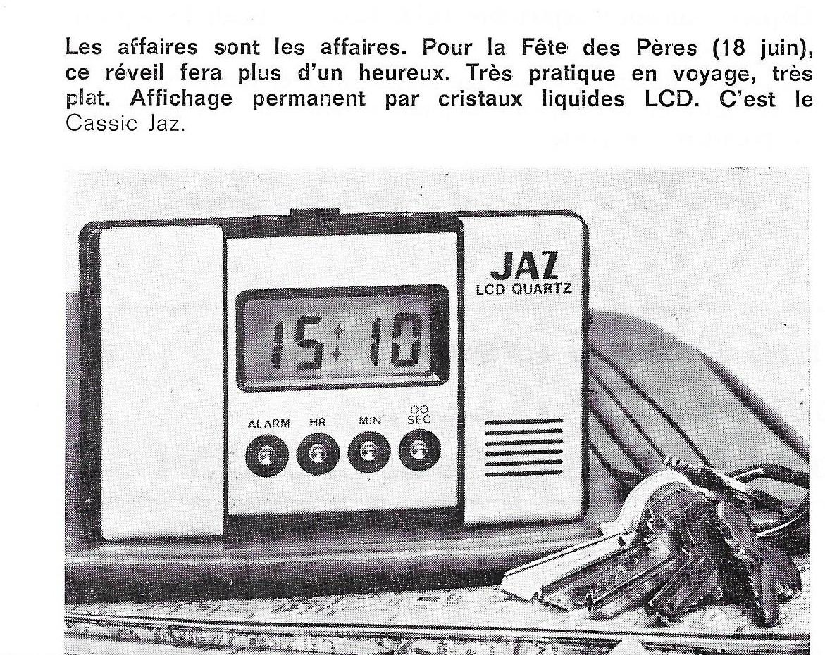 La France Horlogère n°390 Juillet Août 1977 page 68 extrait