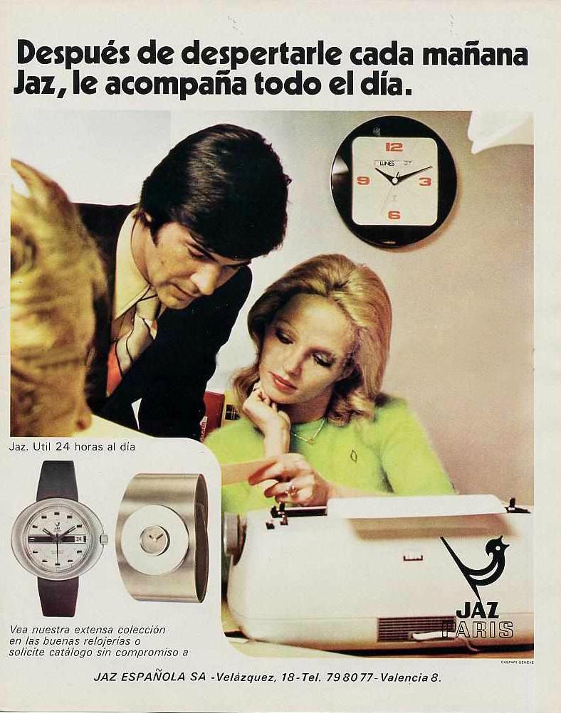 pub Jaz 1973 Espagnr