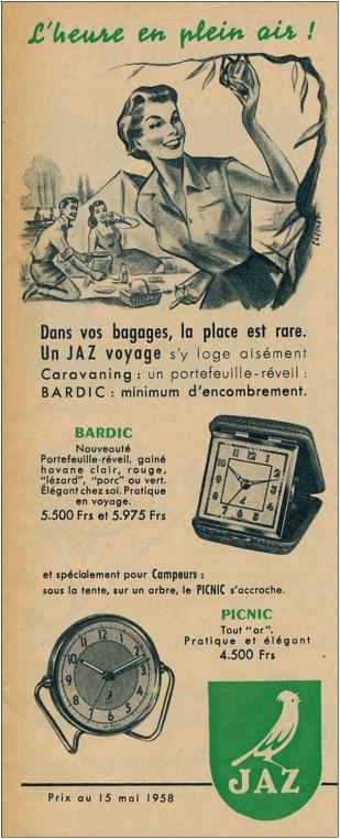 1958 bardic-picnic l'heure en plein air