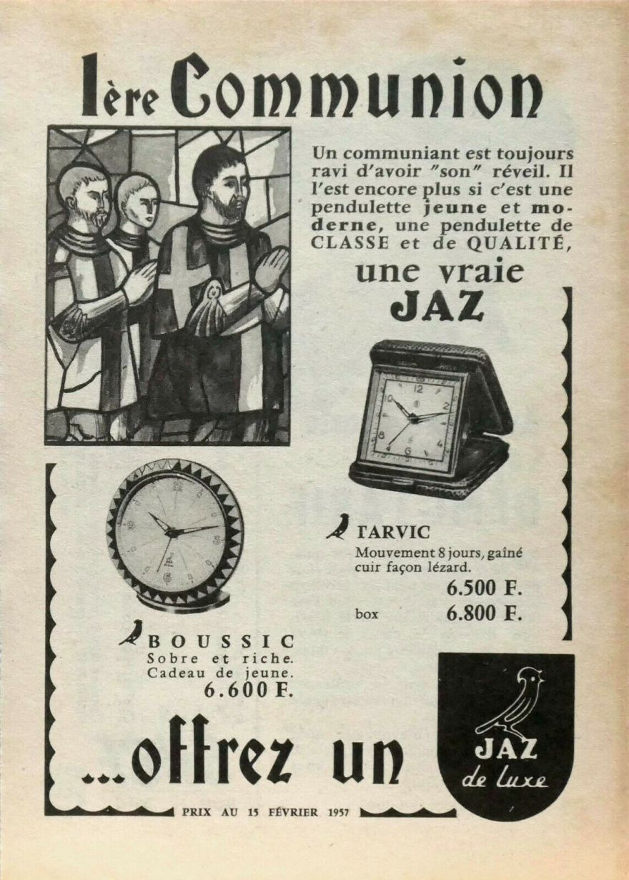 Boussic et tarvic 1957