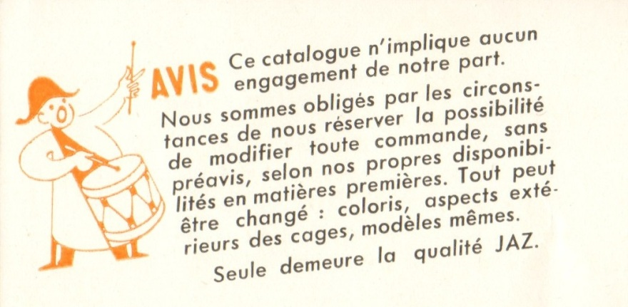 catalogue 1942 AVIS