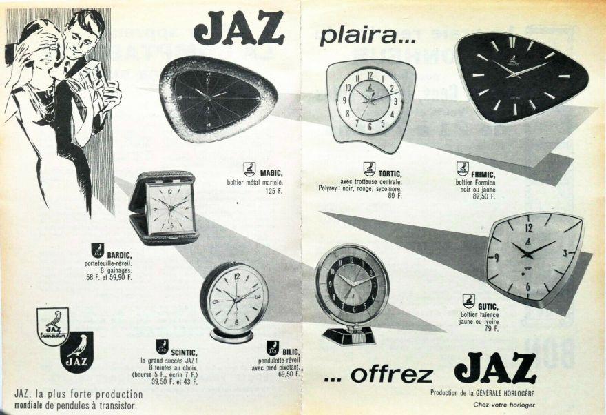 Jaz plaira Décembre 1963