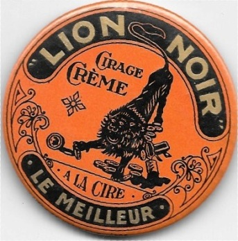 Lion noir boîte à cirage (1)