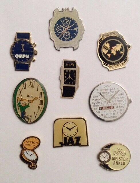 pin's horlogers