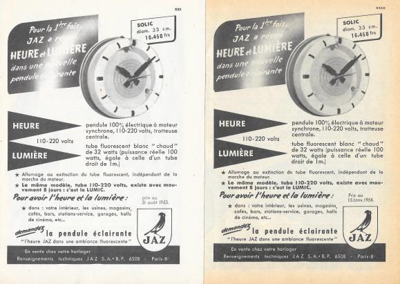 solic 1953 et 1954
