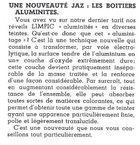 aluminités Jazette n°10 Avril 1946 page 2