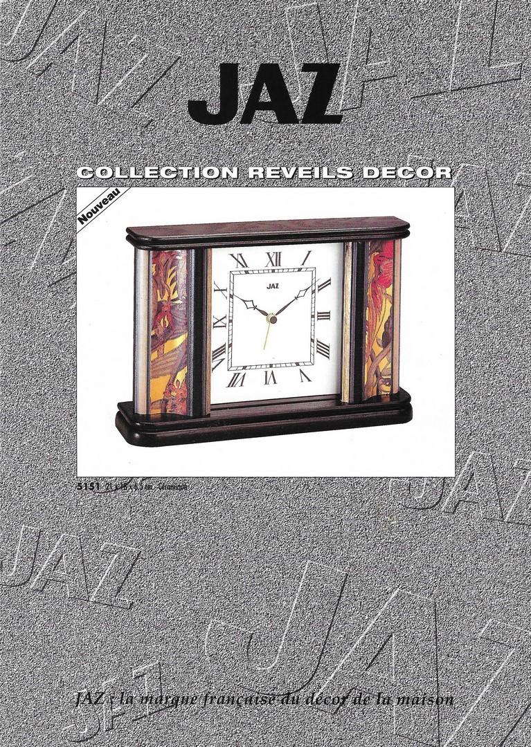 catalogue 1992 réveils décor 1