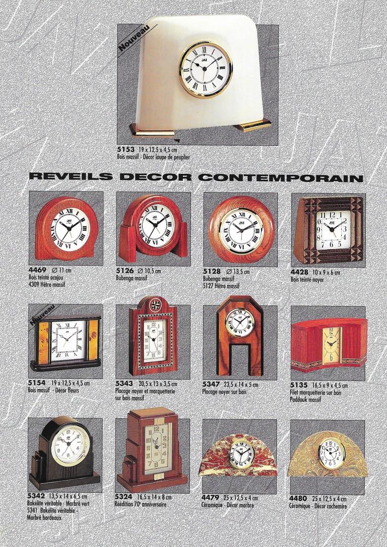 catalogue 1992 réveils décor 2