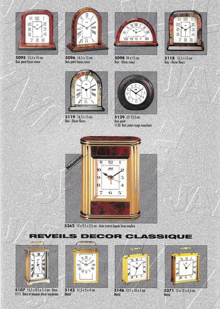 catalogue 1992 réveils décor 3