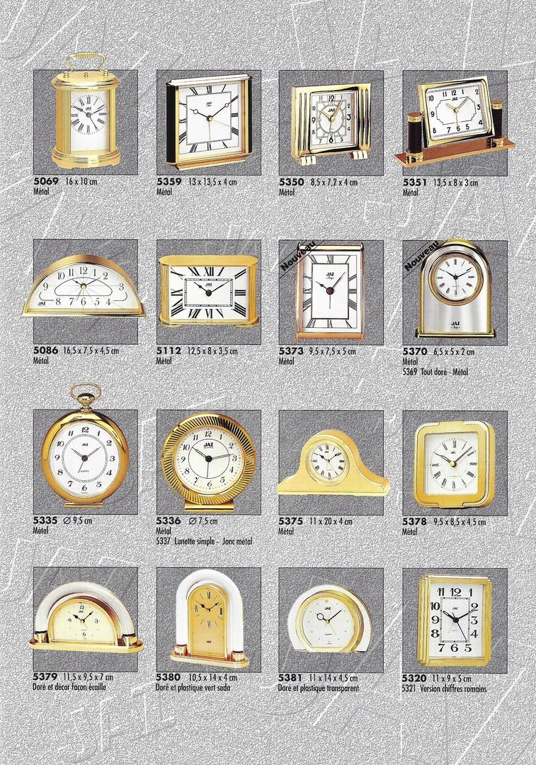 catalogue 1992 réveils décor 4