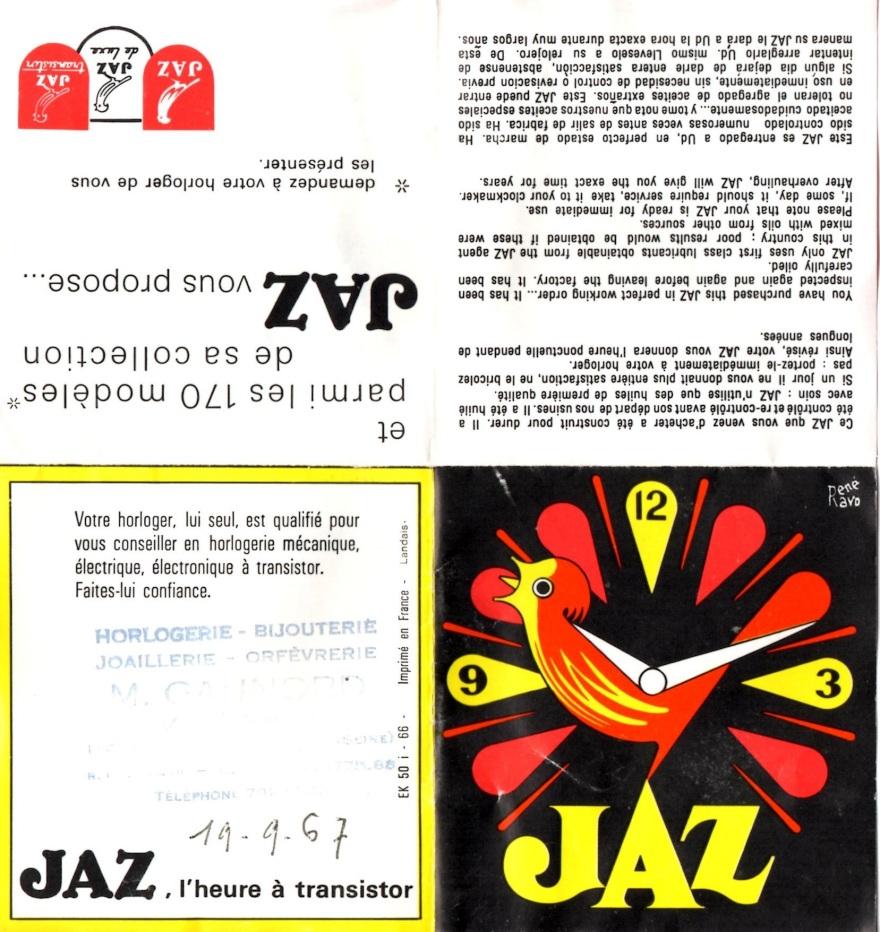 JAZ fascicule FETIC 1966 (1)