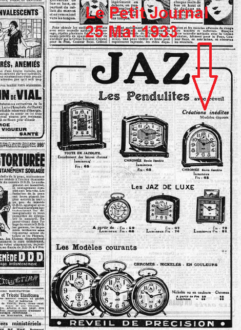 Le petit Journal 25 mai 1933 pub romic