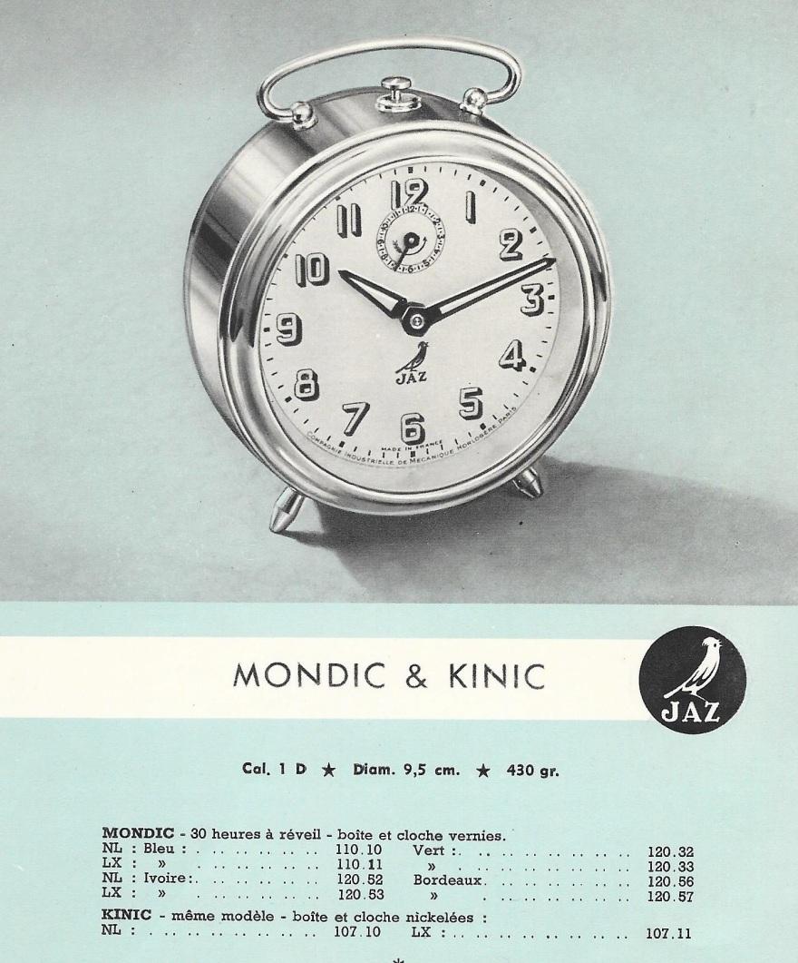 mondic & kinic belge 1950 détail