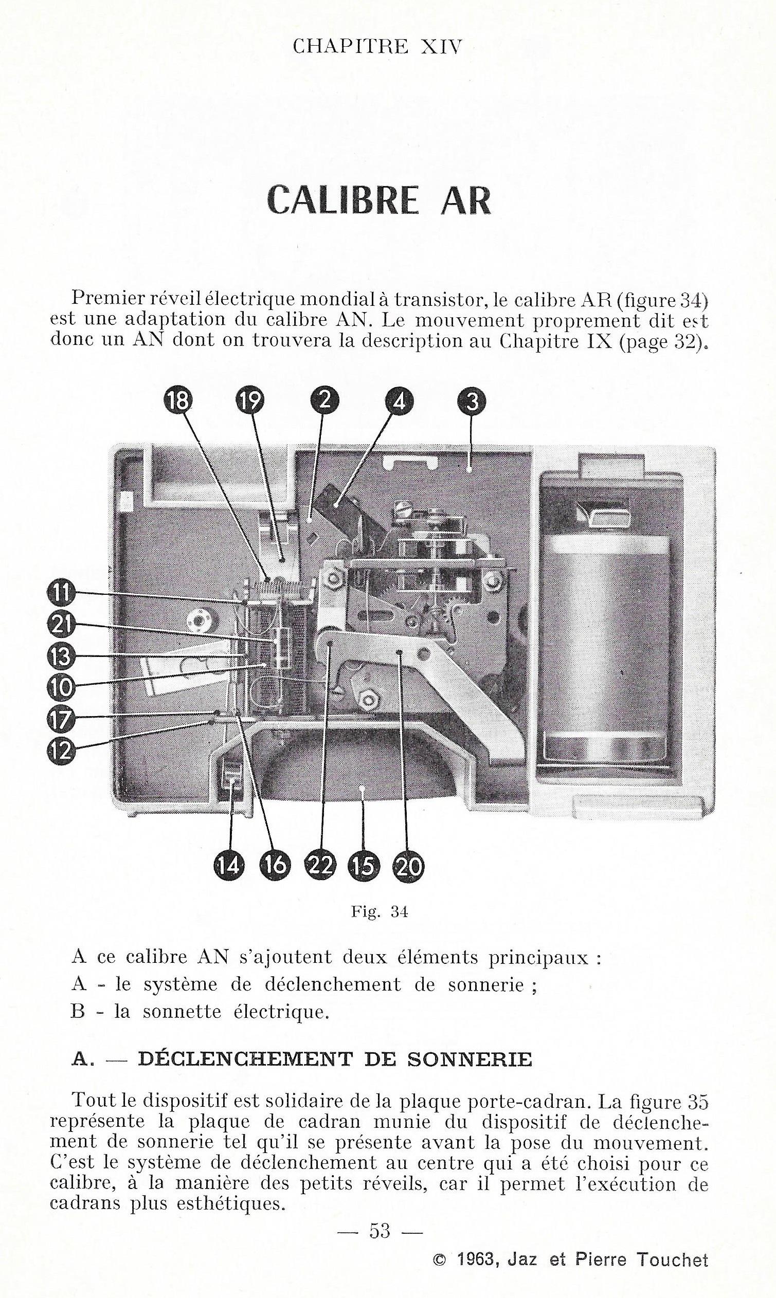 calibre AR fiche technique 1
