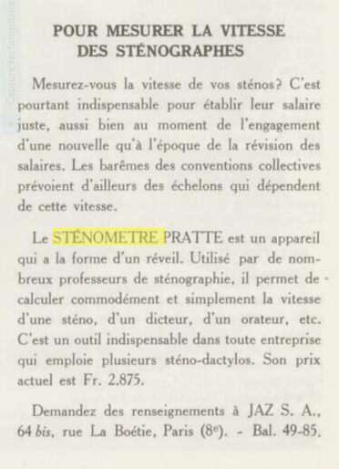 Sténomètre Jaz 1951 Vendre Octobre détail.jpg2