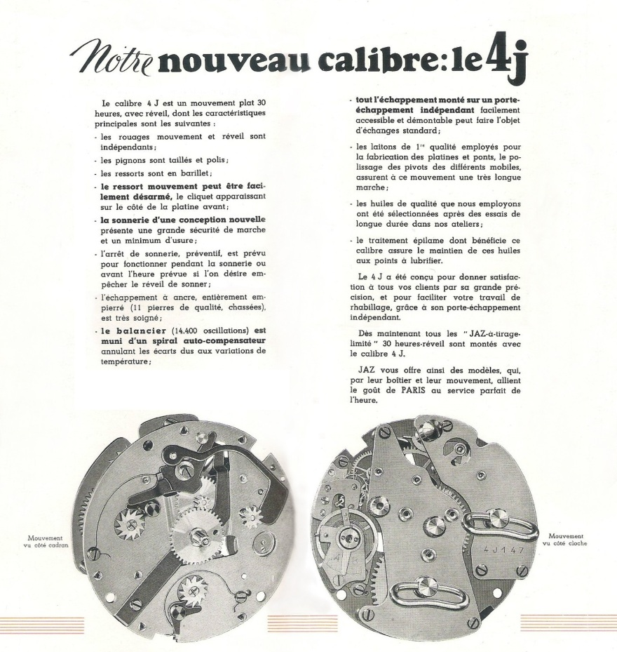 calibre 4 J