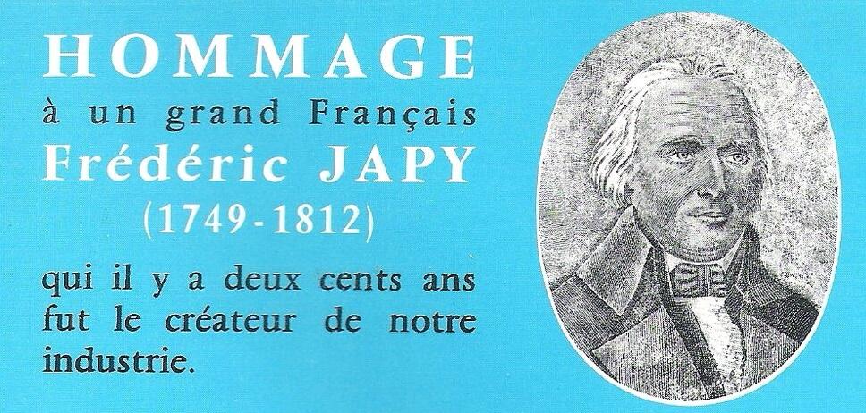 Japy centenaire catalogue 1967-68
