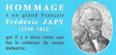 Japy centenaire catalogue 1967-68