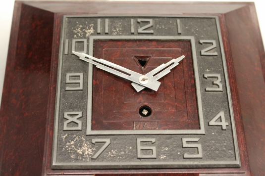 horloge bakelite cadran