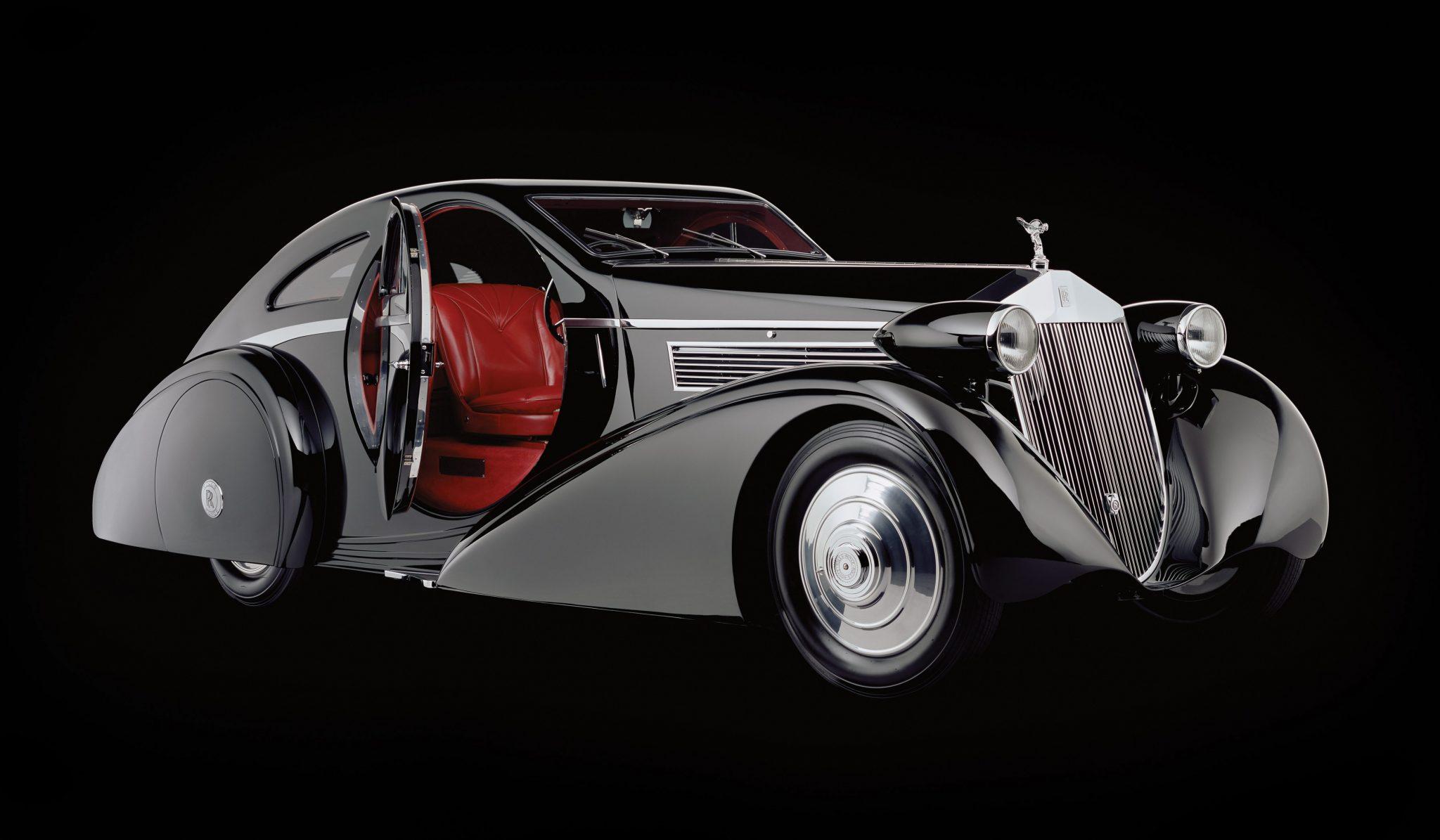 1925 Rolls Royce Phantom 1 Jonckheere Coupe Jaz Le Bon Temps