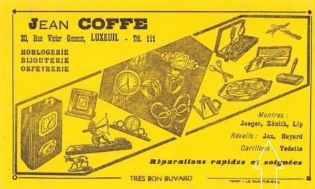 buvard Coffe Jaz
