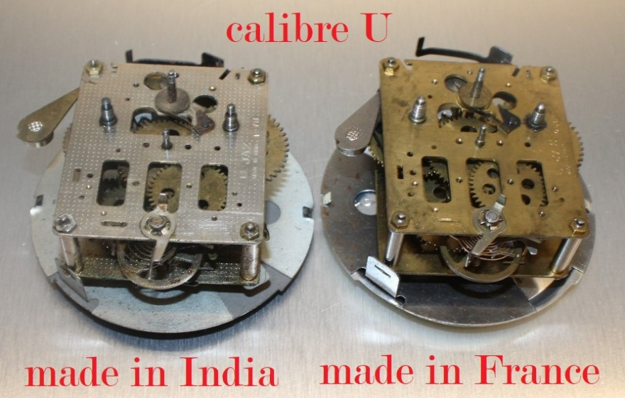 calibre U India vs France