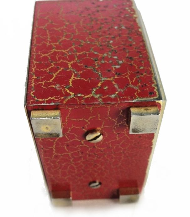 cubic rouge dessous