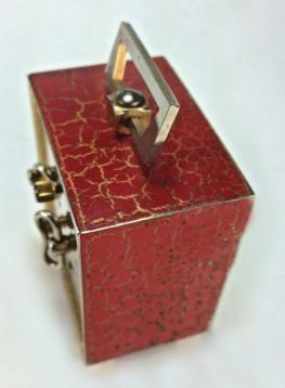 cubic rouge dessus