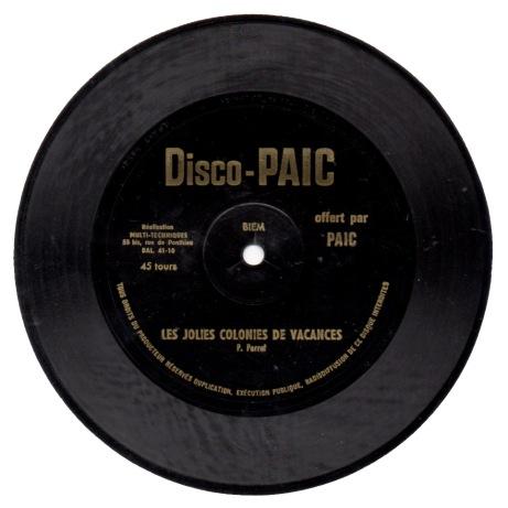 disco-paic--les-jolies-colonies-de-vacances