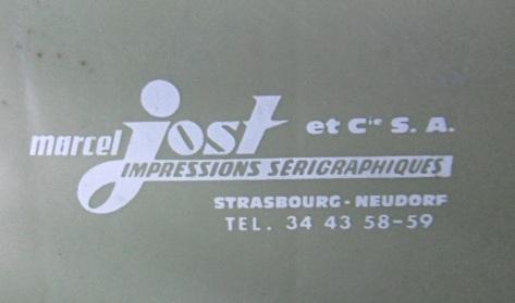 Marcel Jost estampille 2