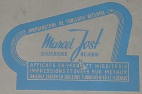 Marcel Jost estampille