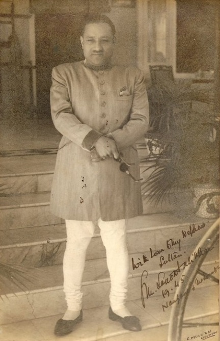 raja nanpara en 1945