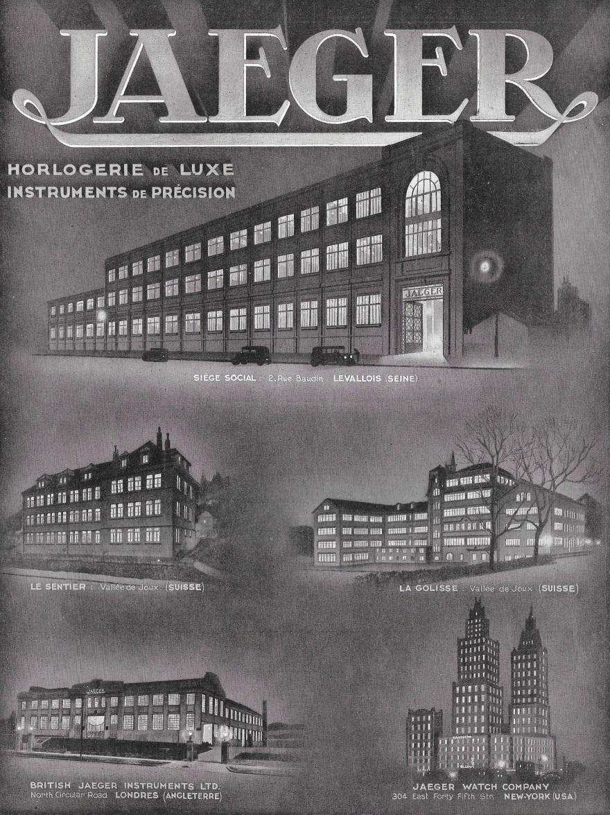 jaeger usines