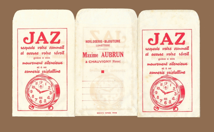 sachets AUBRUN 1938