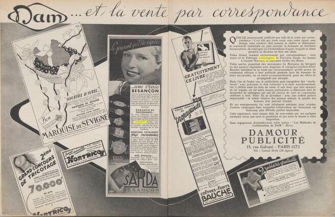 damour pub 1936
