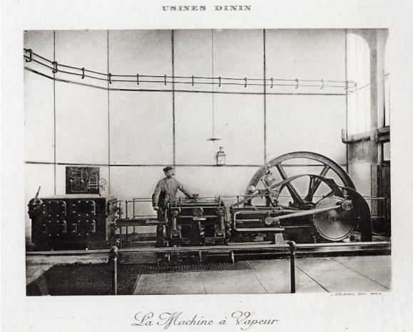 machine à vapeur Dinin Puteaux